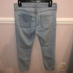 Free People size 28 Light Blue Wash Jeans